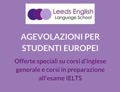 Sconti speciali per studenti europei presso la Leeds English Language School